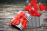 Emballage cadeau saint valentin