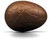 œuf en chocolat