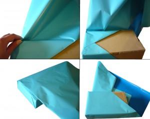 Emballer un cadeau avec la m thode japonaise emballage cadeau - Comment emballer un cadeau rond ...