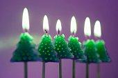bougies-sapin
