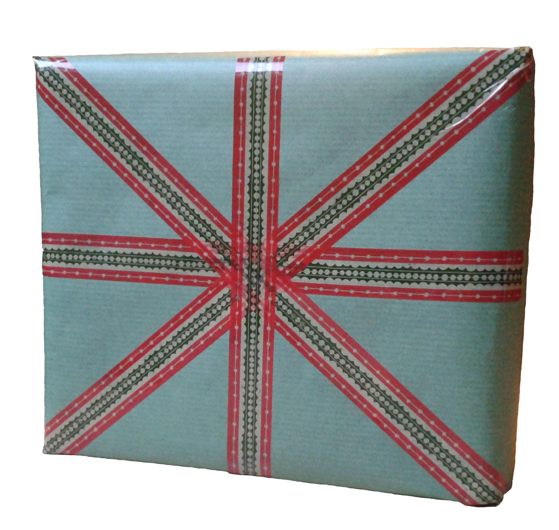 Comment d corer son paquet cadeau avec du masking tape - Emballage cadeau saint valentin ...