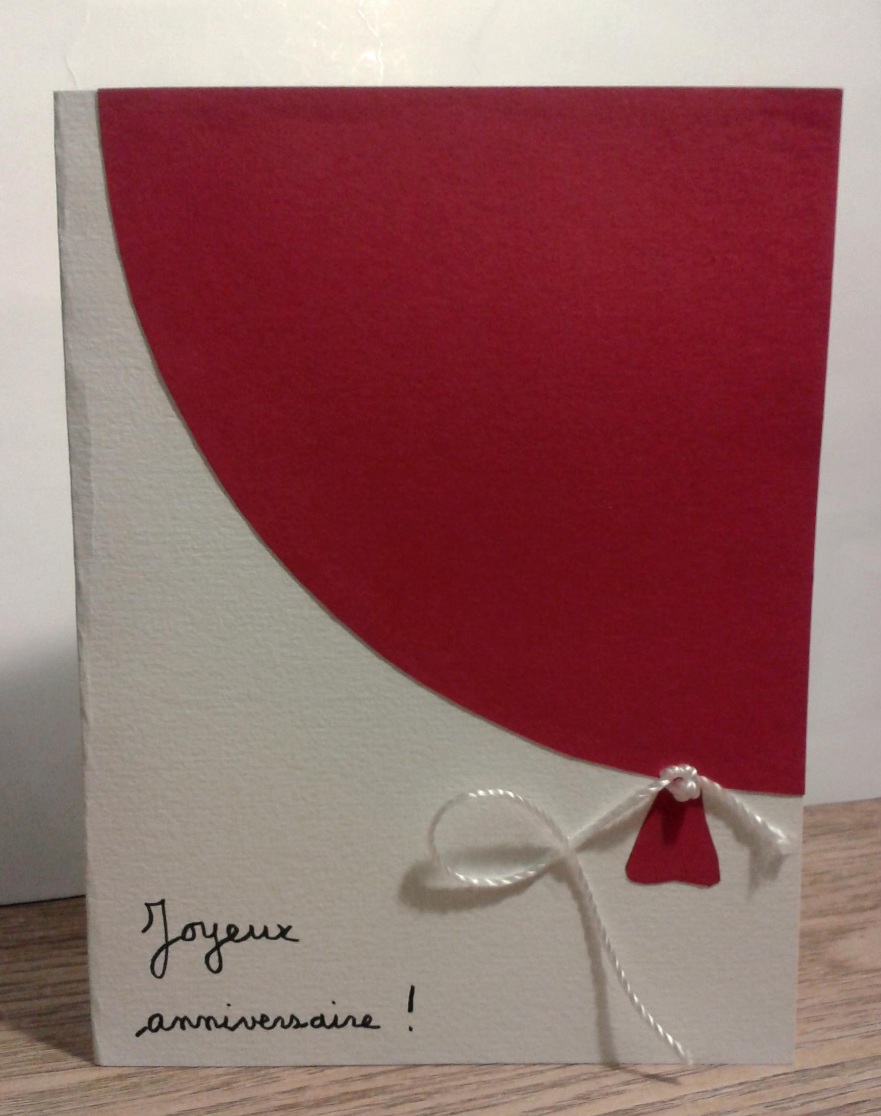 Très Créer ses propres cartes d'anniversaire - Emballage cadeau QV59