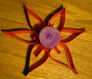 Saint valentin d coration de bougie en forme de c ur - Emballage cadeau saint valentin ...
