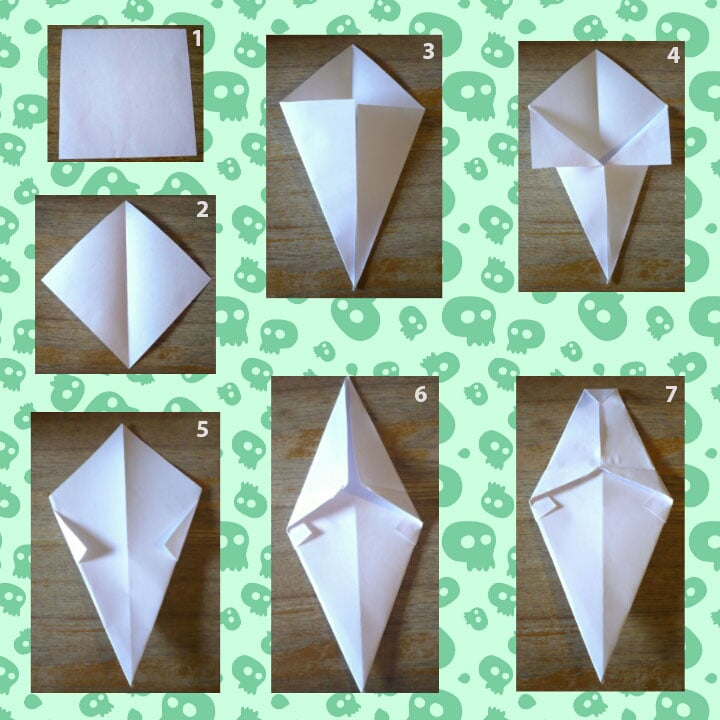 halloween-origami-fantome