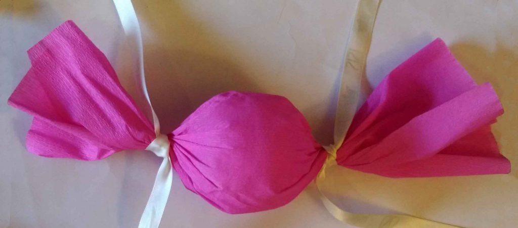 emballage bonbon rose