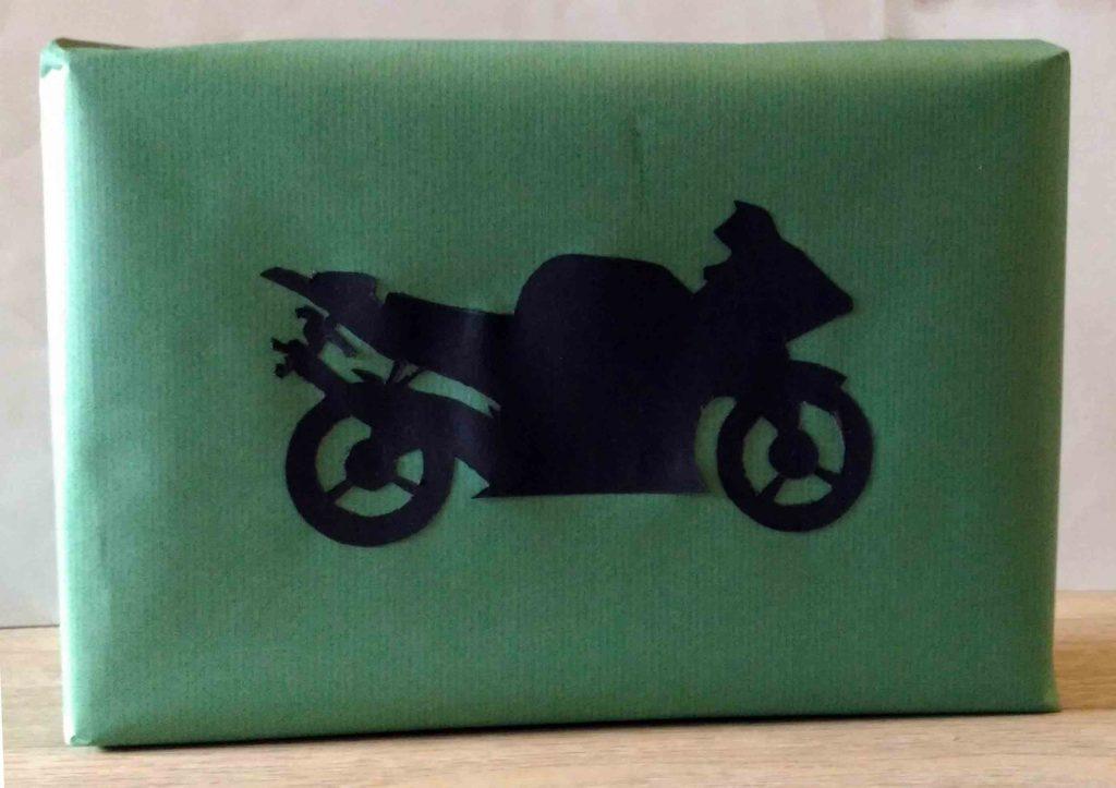 paquet cadeau moto