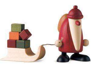 pere noel rouge figurine